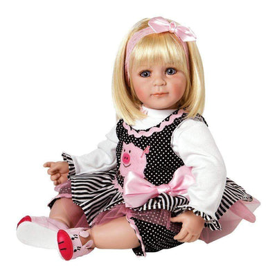 Adora Realistic Toddler Baby Dolls for Kids, 20 inch Oink