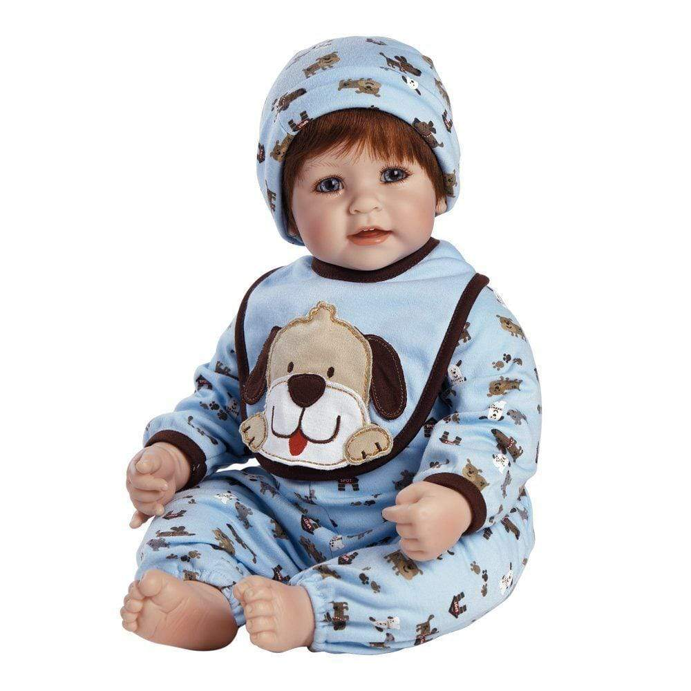 3f9e75735 WOOF! - 20 inch Realistic Boy Baby Doll for Kids 6+