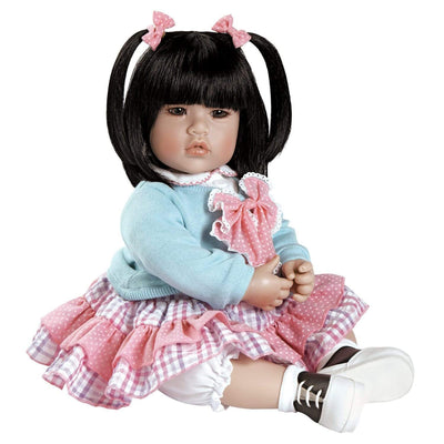 Adora ToddlerTime Baby Doll, 20 inch Baby for Kids Smart Cookie