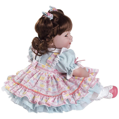 Adora ToddlerTime Baby Doll, 20 inch Baby for Kids Piece of Cake