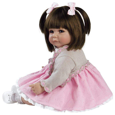 Adora ToddlerTime Baby Doll, 20 inch Baby for Kids Sweet Cheeks
