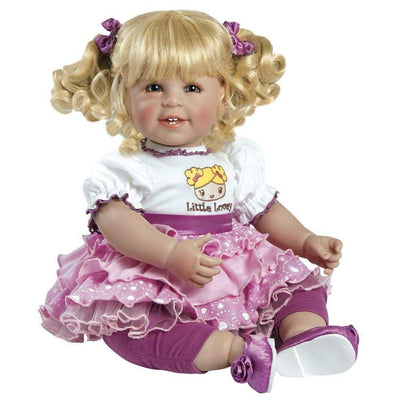 Adora ToddlerTime Baby Doll, 20 inch Baby for Kids Little Lovey