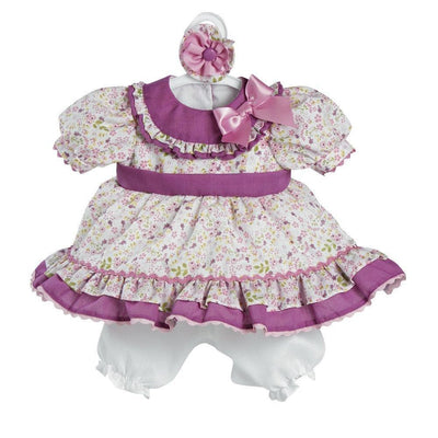 "Adora Baby Doll Clothes & Dresses for 20"" inch Doll Flora Outfit"