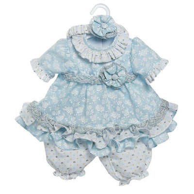 "Adora Baby Doll Clothes & Dresses for 20"" inch Doll Baby Blues Outfit"