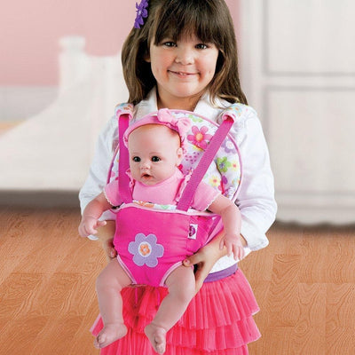 "Adora BabyTime Doll, Realistic & Lifelike 16"" Baby Doll Pink"