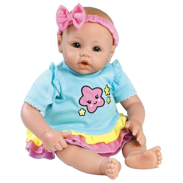 Babytime Quot Rainbow Quot 16 Inch Realistic Baby Doll For Kids