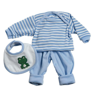 ADORAble Baby Doll Clothes & Outfits - 3 Pc. Layette Set Blue