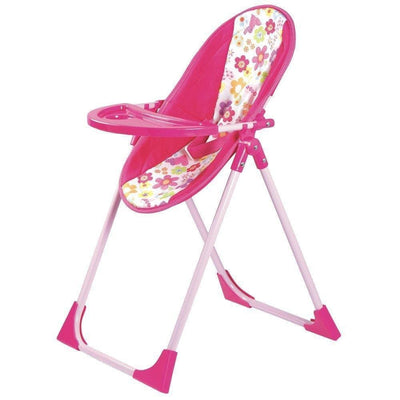 Adora Baby Doll High Chair, Swing, Carrier & Seat, 4 in 1 Play Set