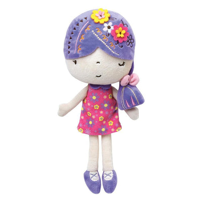 "Adora 11.5"" Petite Rag Doll, Ultra-Soft Microfiber Plush Doll, Softies Fawn"