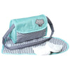 Adora Baby Doll Accessories Diaper Bag - Zig Zag Diaper Bag, Perfect for Boy Dolls