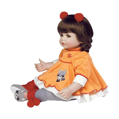 Adora Realistic Toddler Baby Dolls for Kids, 20 inch Macaraccoon
