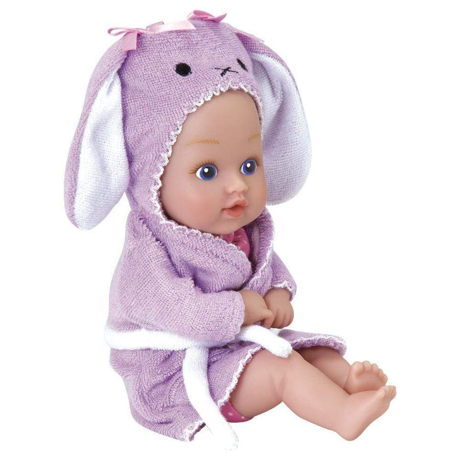"""Bunny"" BathTime Baby Tot - 8.5 inch, Exclusive QuickDri™ Body 
