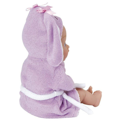 "Adora 8.5"" Bathtime Baby Tot Bunny - Washable, Soft & Cuddly Baby Doll for Ages 1+"