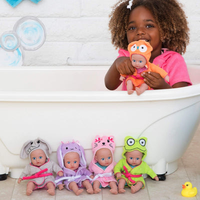 """Owl"" BathTime Baby Tot - 8.5 inch Sweet ADORAble faces, For Ages 1+"
