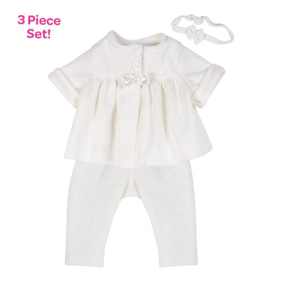 Adora Baby Doll Clothes - 3 piece Adoption Fashion Simply Classic 16""