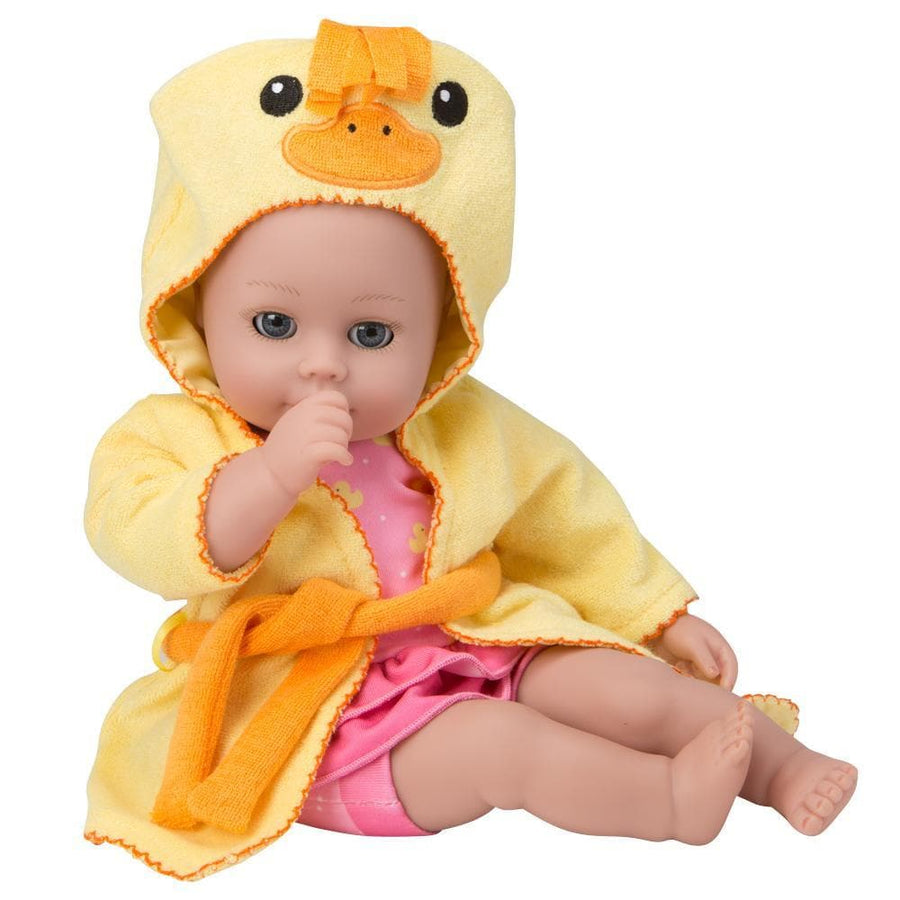 Best Bath Toy for 1 year old Girls - BathTime Baby Ducky | Adora