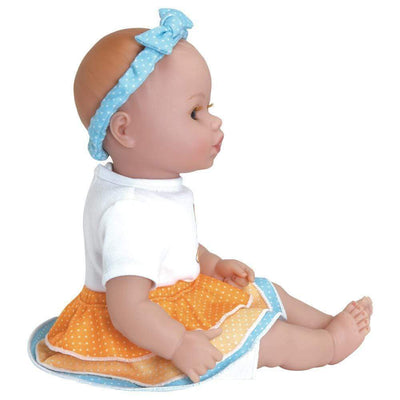 "Adora 13"" Washable Soft Baby Doll for Toddlers - Playtime Baby Frilly Fox, Ages 1+"