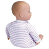 Lilac GiggleTime Baby Doll - 15 inch, Open & Close Eyes, with Carrier