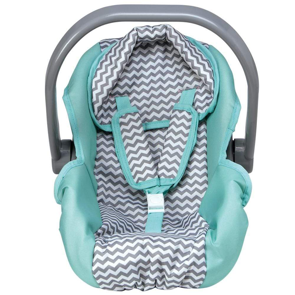 Zig Zag Car Seat Carrier Removable Seat Cover Fits Doll