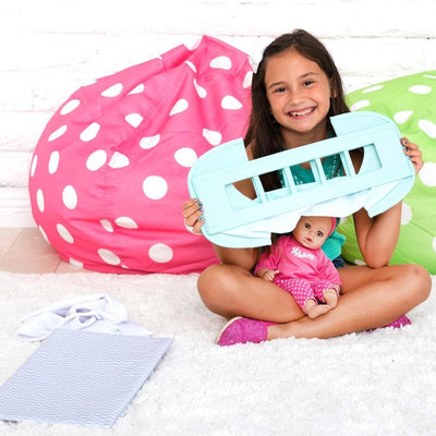 Zig Zag Pack N Play Baby Doll Cradle | Adora Baby Doll Accessories