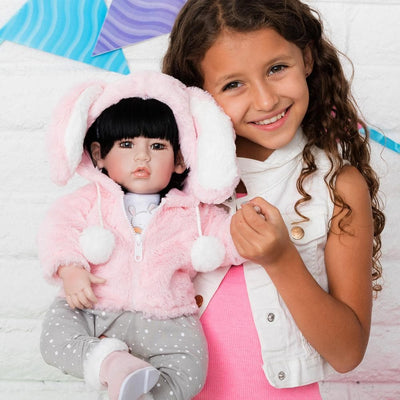 Adora 20 inch Realistic Toddler Baby Doll for Kids - Cottontail