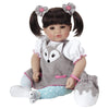 Adora 20 inch Realistic Toddler Baby Doll for Kids - Silver Fox