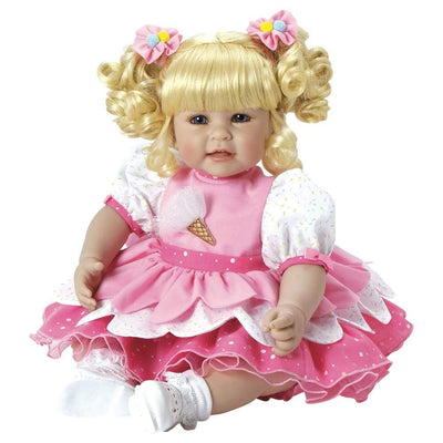 Adora 20 inch Realistic Toddler Baby Doll for Kids - Ice Cream Party