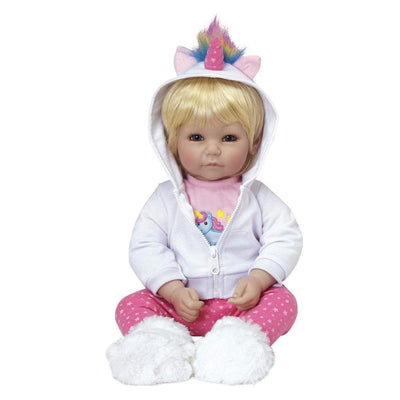 Adora 20 inch Lifelike Toddler Baby Doll for Kids - Rainbow Unicorn