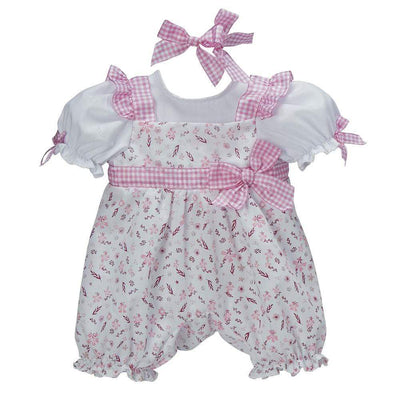 ToddlerTime Fashion Playful Picnic Romper