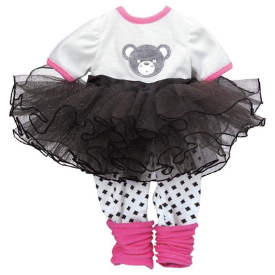 "Adora Baby Doll Clothes & Dresses for 20"" inch Dolls - Teddy Tutu Outfit"