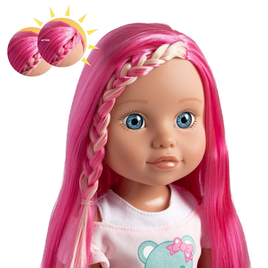 "Adora 14"" Doll-Be Bright Doll Honey Bear,Hair Color Changes in the Sun"