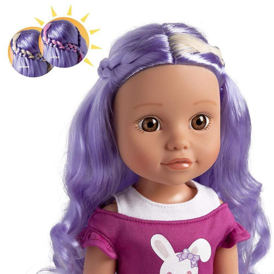 "Adora 14"" Doll-Be Bright Doll Lulu Bunny,Hair Color Changes in the Sun"