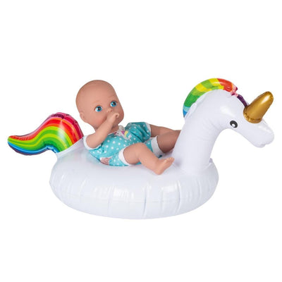 Adora Water Baby Doll - SplashTime Baby Tot Magical Unicorn 8.5 inches