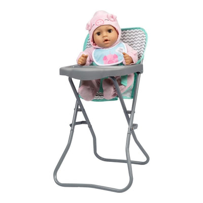 Adora Baby Doll High Chair - Zig Zag Design for up to 16 inch dolls