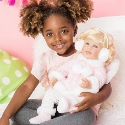 Adora Realistic Baby Doll - ToddlerTime Winter Wonder 20 inches