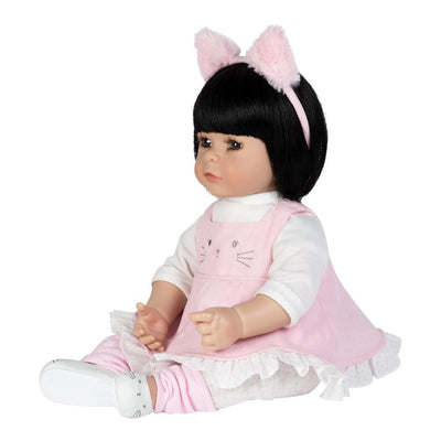 Adora Realistic Baby Doll - ToddlerTime Kitty Kat 20 inches