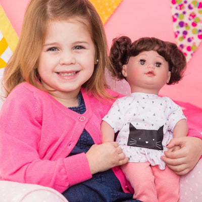 Adora Interactive Doll - My Cuddle & Coo Baby Kitty Kisses 15 inches