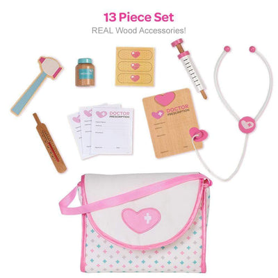 Adora 13 piece Doctor Set for Kids -  Dr. ADORAble
