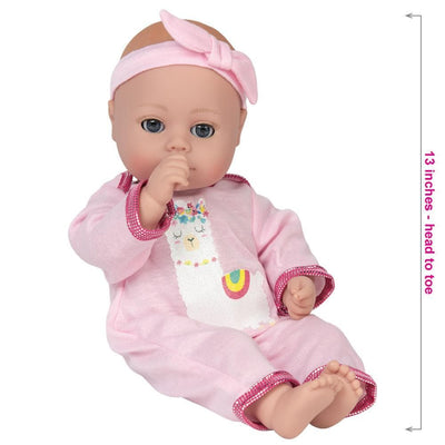Adora Baby Doll for 1 year olds - PlayTime Llama Pajama Doll, 13 in