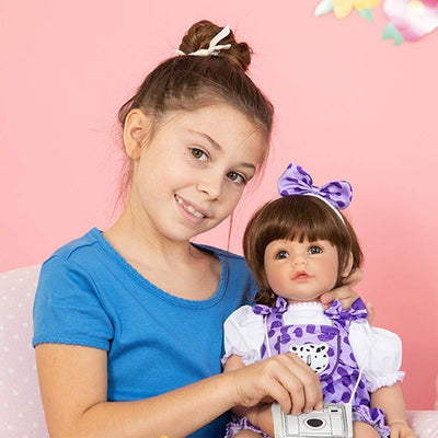 Adora Realistic Baby Doll - ToddlerTime Cheetah Girl, 20 inches