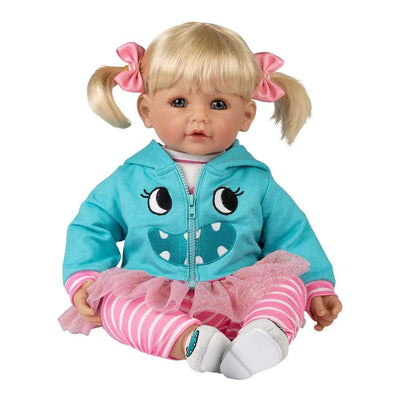 Adora Realistic Baby Doll - ToddlerTime Little Monster, 20 inches