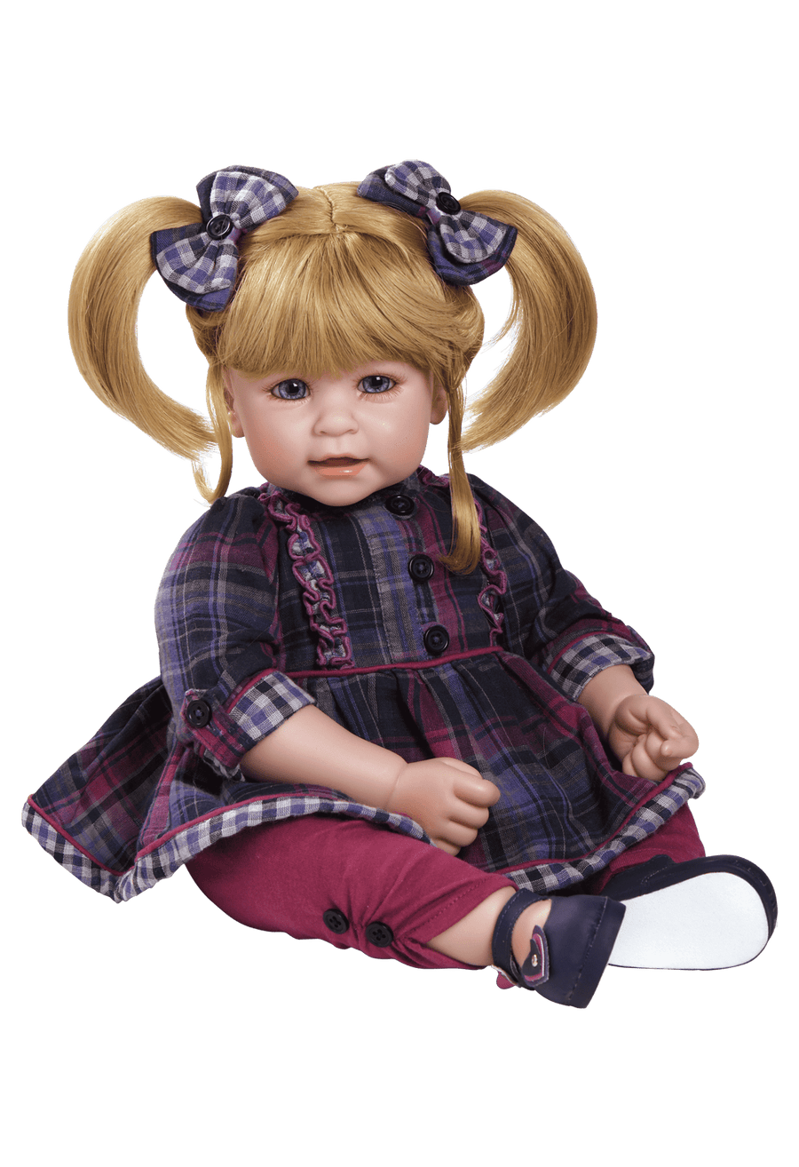 ToddlerTime Doll Mad About Plaid