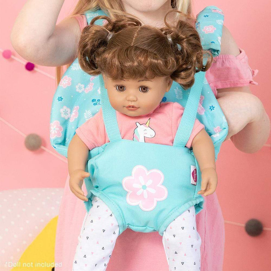 Adora Baby Doll Accessories - Flower Power Doll Baby Doll Carrier