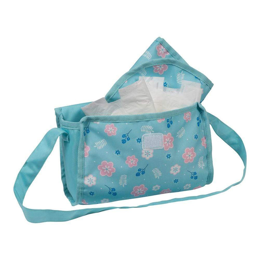 Adora Baby Doll Accessories - Flower Power Diaper Bag