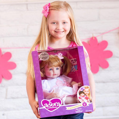Adora Realistic Toddler Baby Dolls for Kids, 20 inch Happy Birthday, Baby