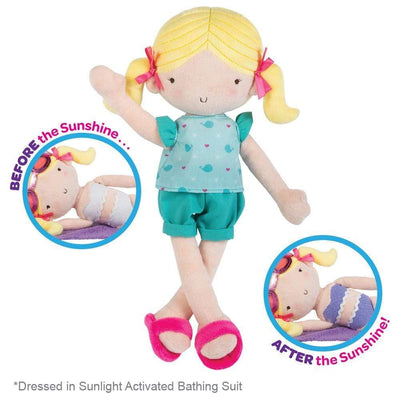 Adora Doll - Sunshine Friend Summer, UV Light Activated Bathing Suit