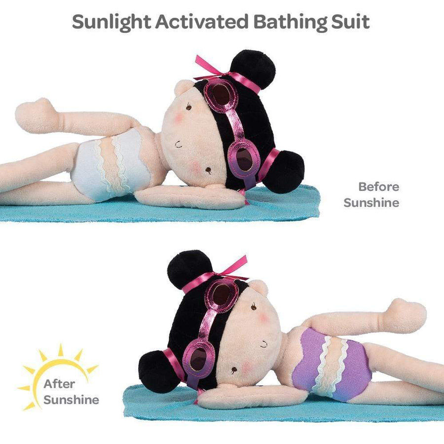 Adora Doll - Sunshine Friend Violet, UV Light Activated Bathing Suit