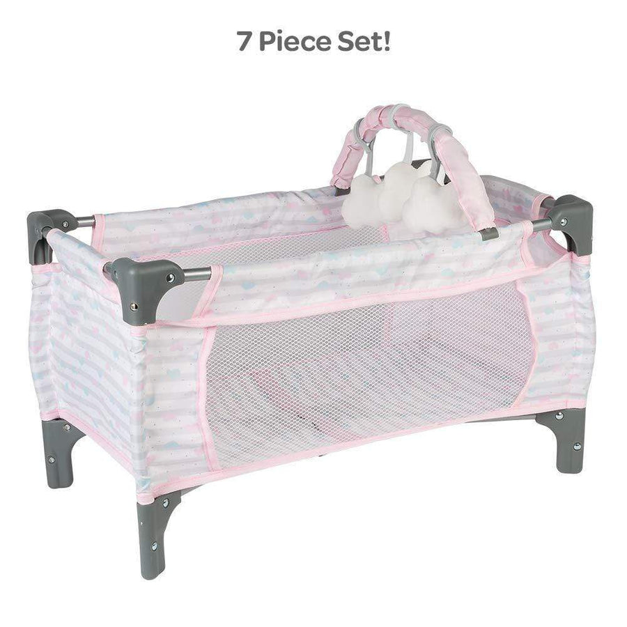 Baby Doll Accessories Baby Doll Cribs Feeding Seats Carriers