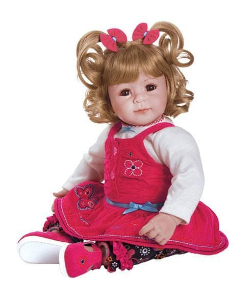 ToddlerTime Doll Corduroy Cutie