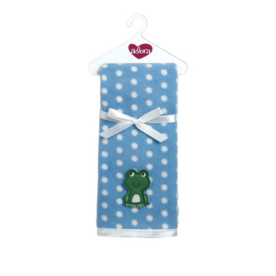 Baby Doll Accesory - Blankie Blue Fits 13-16 inch Baby Doll | Adora